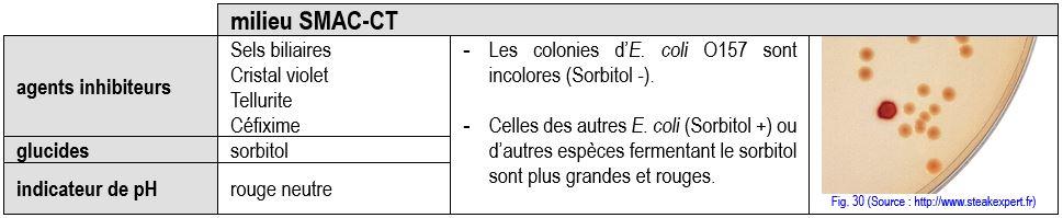 coproculture SMAC EHEC